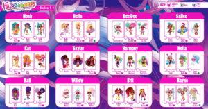Hairdorables — вся коллекция кукол с именами.