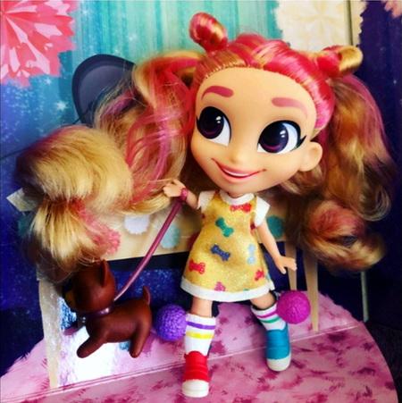 Hairdorables реальные фото куклы Кэт.