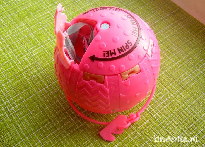 Розовый шарик.