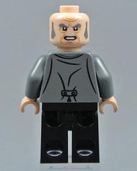 Злобный старик Филч в версии Lego.
