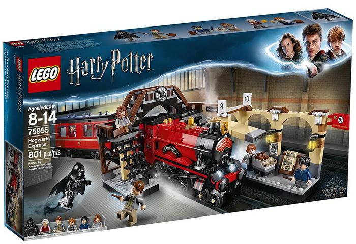 Конструктор Лего «Хогвартский экспресс».