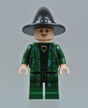 Минифигурка профессора МакГонагалл Лего.