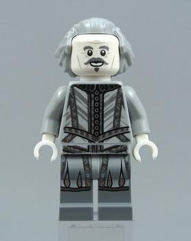 Минифигурка призрака по имени Почти Безголовый Ник Лего.