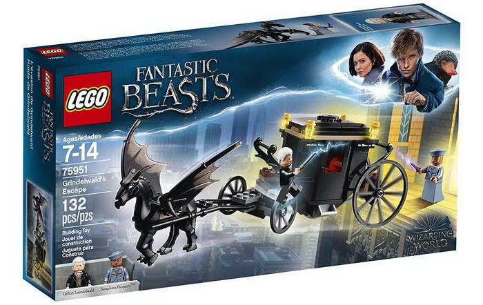 Набор Lego Фантастические твари и где они обитают.