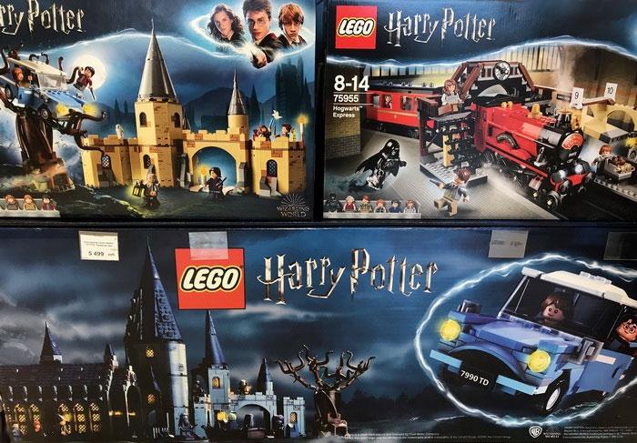 Конструкторы Lego «Гарри Поттер».