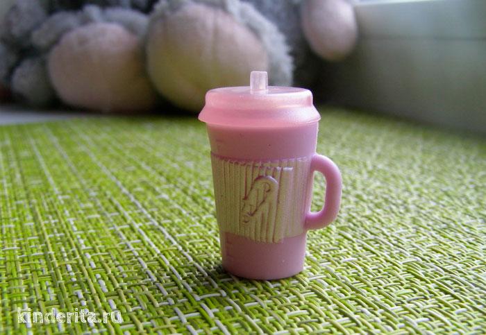 Розовая бутылочка.