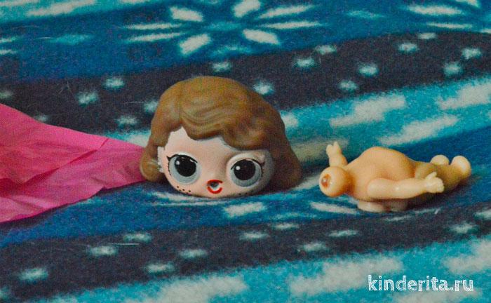 Кукла Лол Декодер в разобранном виде.