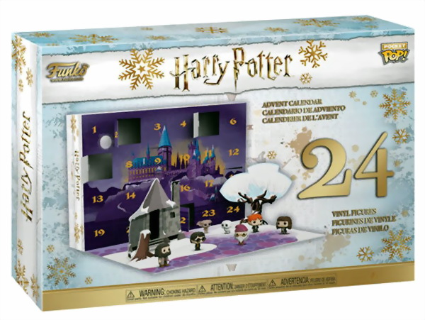 Коробка с advent календарем Harry Potter.