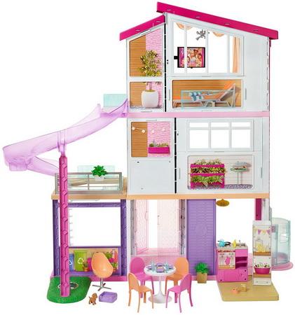 Дом Барби — вид сзади.