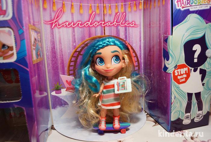 Куколка с длинными волосами Hairdorables.
