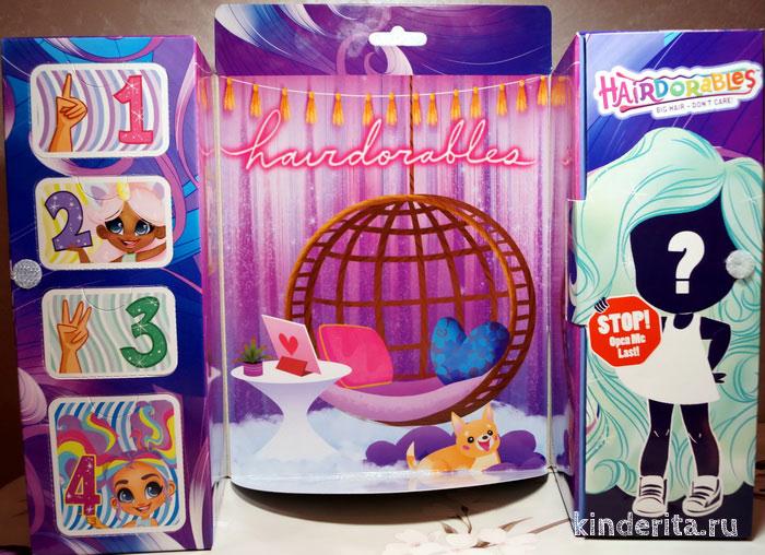 Внутри коробки с куклой Хейдораблс.