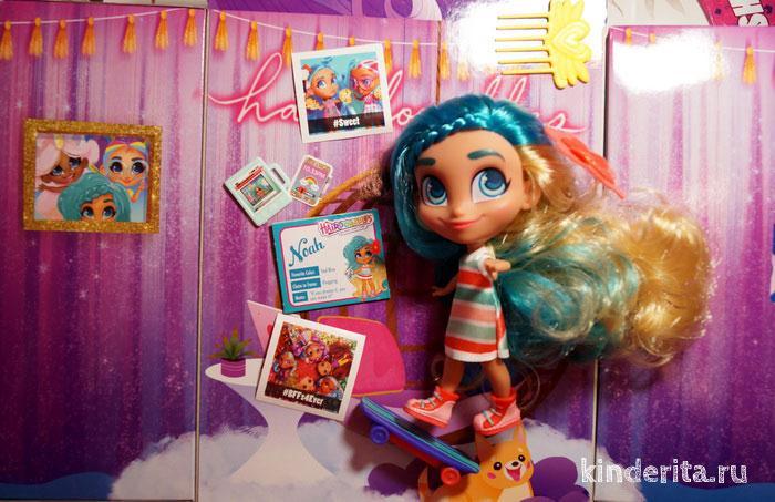 Куклу Ноа из Hairdorables не купишь в Детском мире, только в Америке.