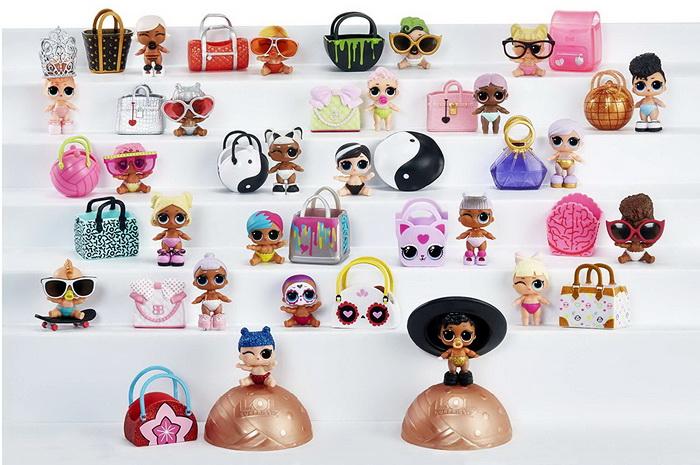 Все куклы первой и второй волны ЛОЛ Сюрпрайз с декодером.