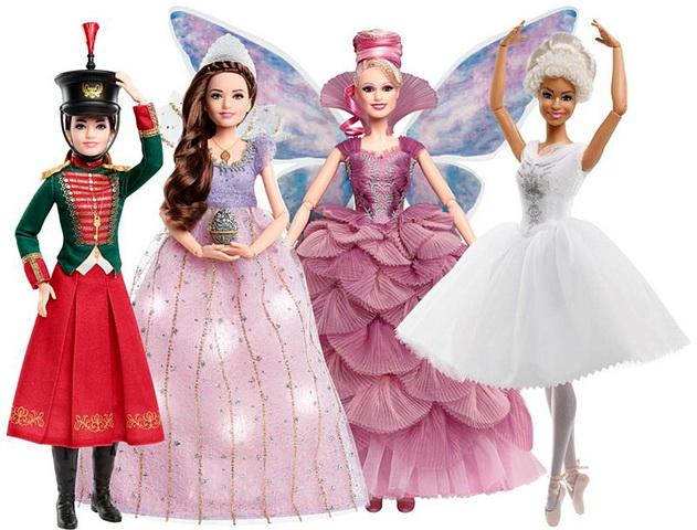 Куклы по фильму «Щелкунчик и четыре королевства».