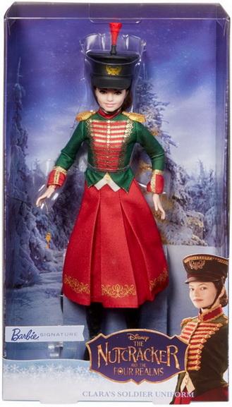 Базовая кукла Клара от Дисней в костюме солдата.