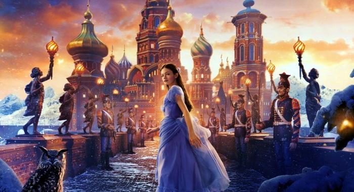 Постер к фильму Щелкунчик и четыре королевства.