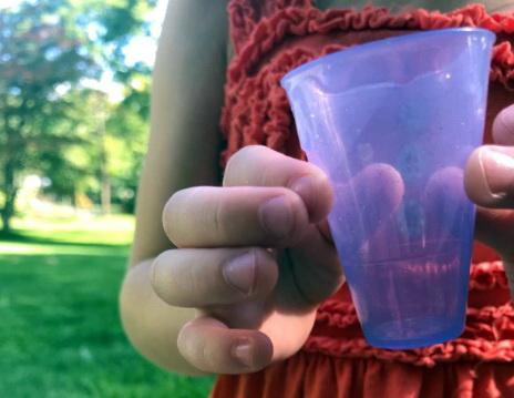 Фото мерного стаканчика от Пупси.