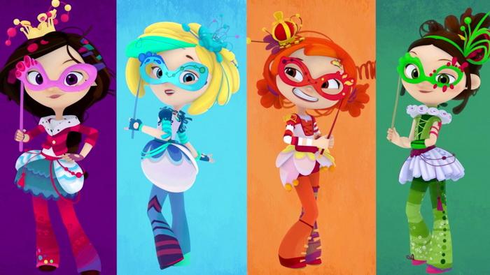 Образы волшебниц, взятые за основу первого выпуска кукол.