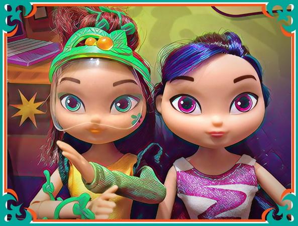 Маша и Варя — куклы первого выпуска.