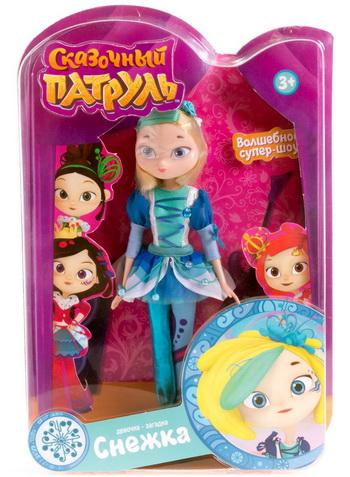 Купить куклу Снежку можно в Детском мире.