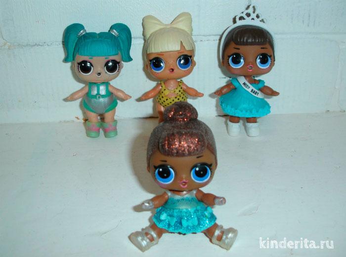 Коллекция кукол.