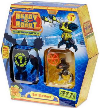 Реди ту робот набор с бластером, пилотом и роботом.