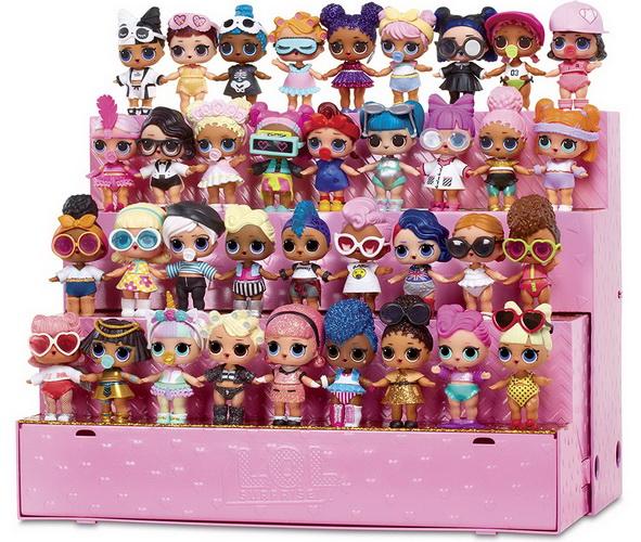 Подставка стенд для кукол ЛОЛ.