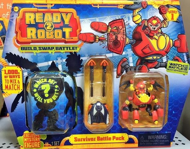 Набор Survivor Battle Pack «Две капсулы и оружие»