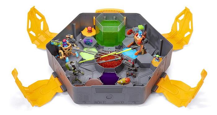 ready2robot большая арена для сражений с 50 сюрпризами внутри.