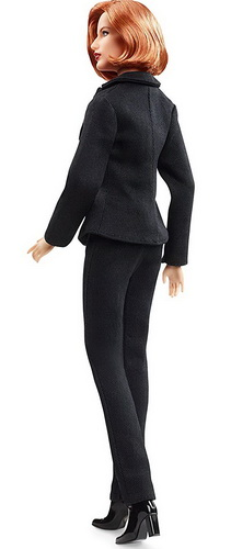 Dana Scully Doll Mattel.