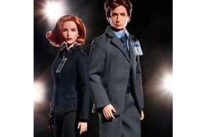Барби «Секретные материалы»: куклы Скалли и Малдер