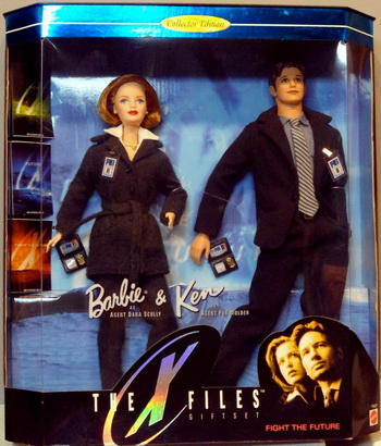 Набор кукол Дана Скалли и Фокс Малдер.