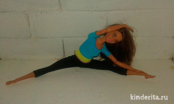 Кукла гимнастка.