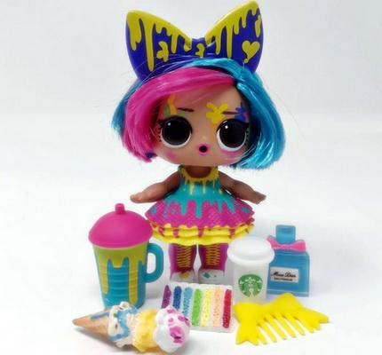 Splatters — самая красочная куколка Хейргоалс.