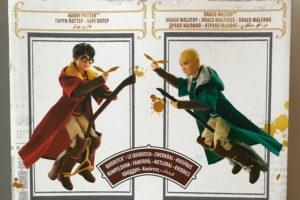 Куклы Гарри Поттер и Драко Малфой: игра в квиддич