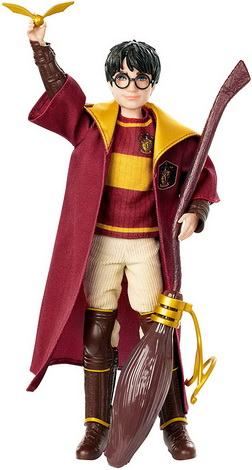 GDJ7 Harry Potter Doll quidditch .