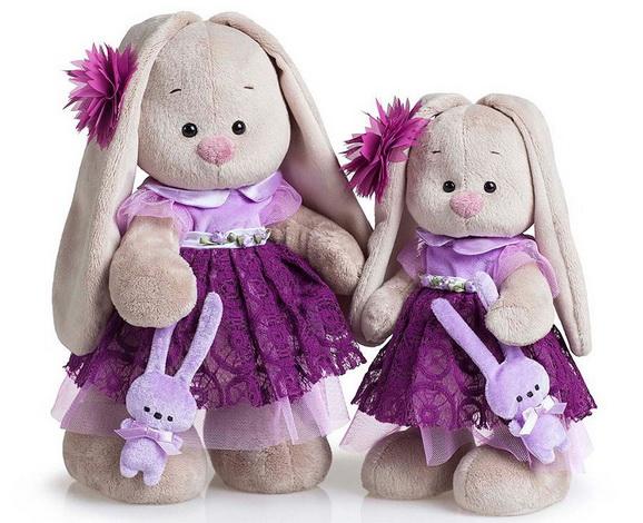 Коллекция Ягода в фиолетовом платье.