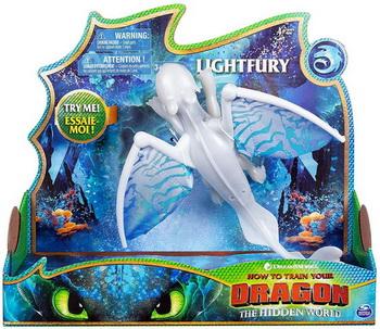 Dragons 66626Wh Большая фигурка дракона со звуковыми и световыми эффектами дн.Фурия