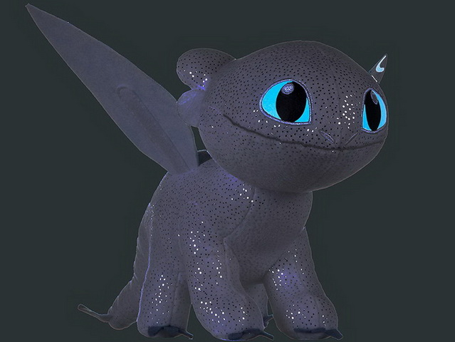 Light Fury Dragon Toothless.