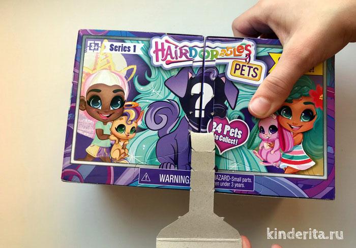 Распаковка игрушки загадки с волосами хейрдораблес.