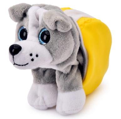 Серый щенок Рекс .