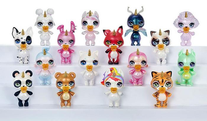 Коллекция сверкающих существ.