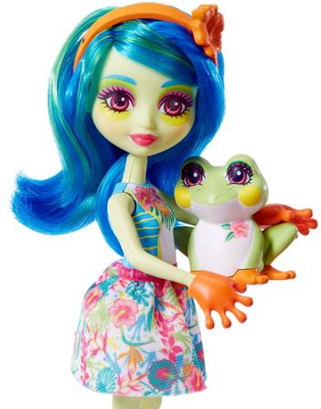 Лягушонок и его подружка.