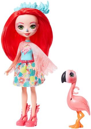 Фенси Фламинго и Свош.