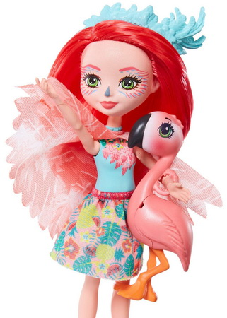 Куколки розовые фламинго.