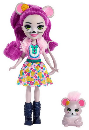 Куколка Мышка Майла и её питомец Фондю.