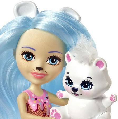 Куклы и животные Enchantimals.
