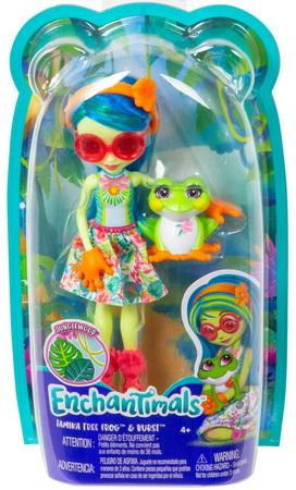 Кукла лягушка и питомец Бёрст.