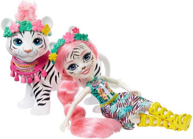 Белые тигры Тэдли и Китти.