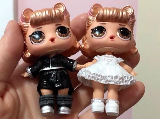 Неправильная кукла повторка в ЛОЛ Жених и Невеста.